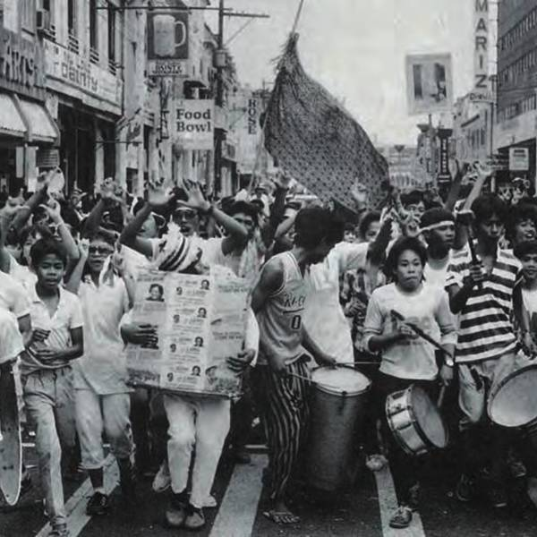 The Philippine People Power Revolution in 1986<br />
