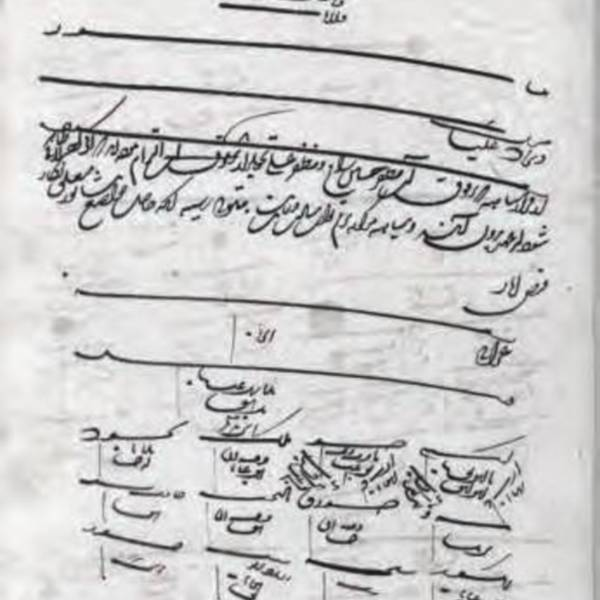 Administrative Documents of Astan-e Quds-e Razavi in the Safavid Era<br />