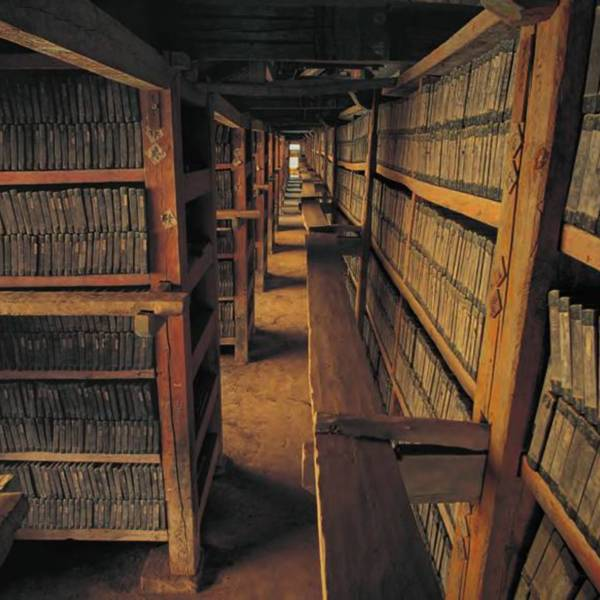 These 87,245 woodblocks are housed in the Haeinsa Monastery<br />